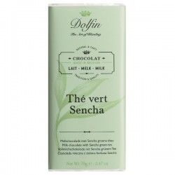 Milk with sencha green tea  70g