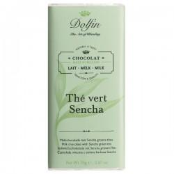 Milk with sencha green tea  70g