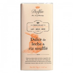 !NEW! Milk with dulce de leche and crispy rice  70g