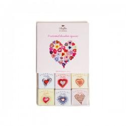 Love - Valentine - 9 stuks (**)