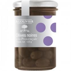 Zwarte olijven op provençaalse wijze 125g