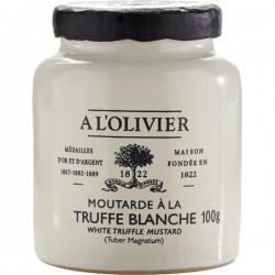 Mosterd met witte truffel 100g