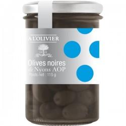 Zwarte olijven van Nyons 115g