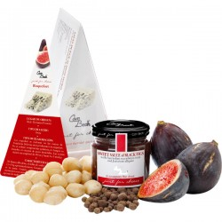 Just for Cheese Zwarte vijgen, macadamia & Jamaicaanse allspice 115g
