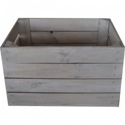 P.O.S. Witgewassen houten kisten