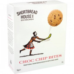 Shortbread Sport Chocoladestukken 150g