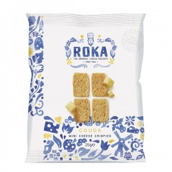 Mini Cheese Crispies Gouda (Sachet) Bleu de Delft 25g