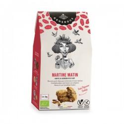Martine Matin BIO zachte ontbijtkoeken haver & rozijnen  (glutenvrij-vegan) 5x30g