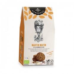 Martin Matin  Biscuit petit déj' avoine chocolat  (sans gluten-vegan) 5x30g