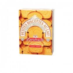 Zwieback - Petites Biscottes Suisses au Lait 165g