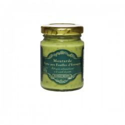 Moutarde Verte aux Feuilles d'Estragon 100g