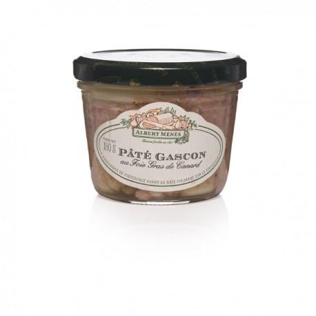 Gascon paté met eenden foiegras 180g