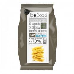 Gepopte chips met Zout & Peper (glutenvrij-vegan) 85g