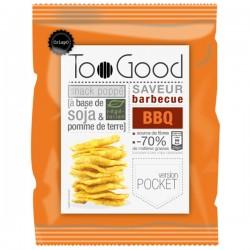Gepopte chips met BBQ (glutenvrij-vegan) 25g
