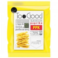 Gepopte chips met Paprika (glutenvrij-vegan) 25g