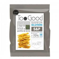 Gepopte chips met Zout & Peper (glutenvrij-vegan) 25g