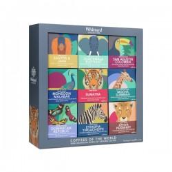 Geschenkdoos Wereldkoffies 9x66g