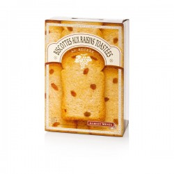 Biscottes aux Raisins Toastées au Beurre 200g