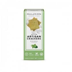 Artisan Crackers Basilic 130g