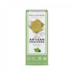 Traditionele Crackers Basilicum 130g