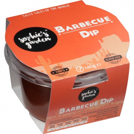 Barbecue dip (glutenvrij-vegan) 140g