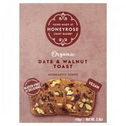 Toost met Dadel en Walnoten BIO (glutenvrij-vegan) 110g