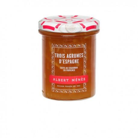 Marmelade van drie citrusvruchten uit Spanje Fijne schil 280g