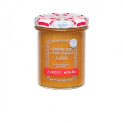 Suikerarme Corsicaanse clementine en Spaanse citroen konfituur 265g