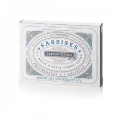 Sardines Préparées à l'Ancienne à l'Huile d'Olive Vierge Extra 115g