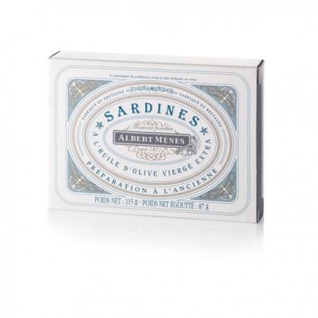 Sardines op oudse wijze met extra zuivere olijfolie 115g