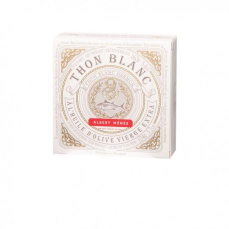 Witte tonijn met extra zuivere olijfolie 160g