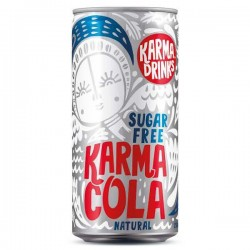 Karma Cola  Fairtrade Suikervrij 250ml