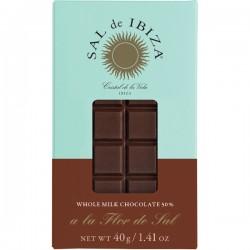 Fleur de Sel Melk BIO chocolade 40g
