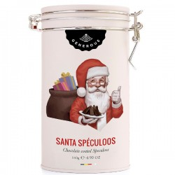 Metal box Santa Speculoos BIO (glutenvrij) 140g