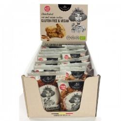 Cookies Flowpack - Martine Matin - BIO (sans gluten-vegan) Display 20x30g