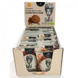 Cookies Flowpack - Martin Matin - BIO (sans gluten-vegan) Display 20x30g