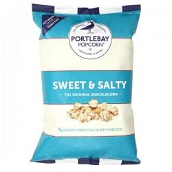 Popcorn zoet & zout (glutenvrij-vegan) 75g