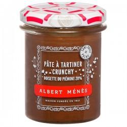 Krokante smeerpasta met hazelnoten uit de Piemonte B.G.B. 210g