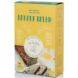 Mix pour pain à la banane aux dates BIO (sans sucres) 295g