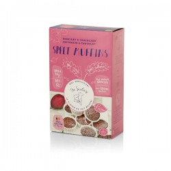 Muffins épautre chocolat & beterave rouge BIO 313g