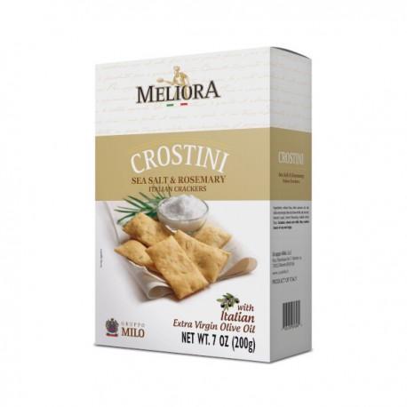Crostini romarin et sel de mer boite 200g