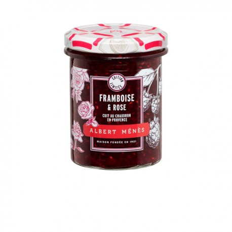 Préparation aux Fruits de Framboise et Rose 280g