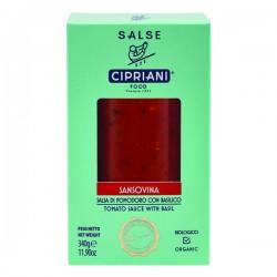 Sauce tomates sansovina boîte BIO 340g