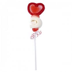 Coeur Spirale Marshmallow pop 40g