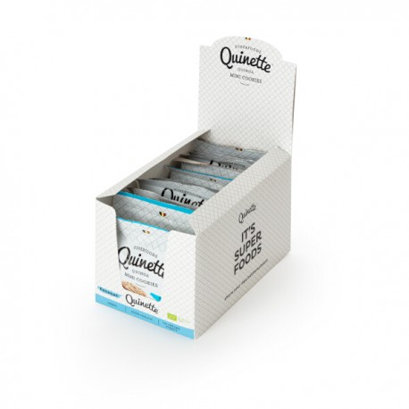 Quinoa Super Mini COCONUT cookies BIO (glutenvrij-vegan)  12x35g