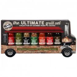Vrachtwagen ultime BBQ ervaring sauzen & rubs 7st.