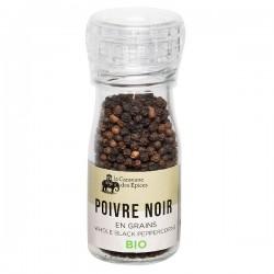 Poivre Noir en grains BIO - Moulin  40g