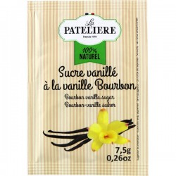 Natuurlijk Bourbon gesuikerd vanillepoeder 5 x7,5 g