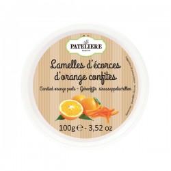 Plakjes gekonfijte sinaasappelschil 100g