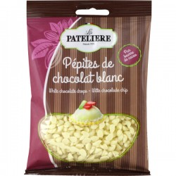 Witte chocolade drops 100g